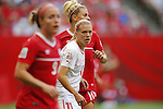 Lala Dickenmann (SUI), JUNE 21, 2015 - Football / Soccer : <br /> FIFA Women's World Cup Canada 2015 Round of 16 match between Canada 1-0 Switzerland at BC Place Stadium, <br /> Vancouver, Canada. (Photo by Yusuke Nakansihi/AFLO SPORT)