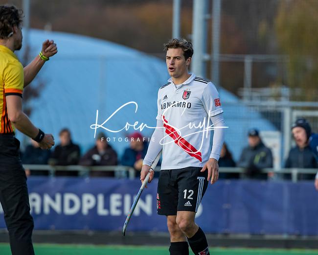 AMSTELVEEN - Boris Burkhardt (Adam) tijdens de competitie hoofdklasse hockeywedstrijd heren, Pinoke-Amsterdam (1-1)   COPYRIGHT KOEN SUYK