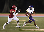 St. Aug defeats Brother Martin, 47-44, at Tad Gormley Stadium on  October 3. 2015.