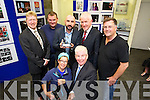 Pictured at the Press Photographers Association of Ireland exhibition which opened in the AIB Killarney on Thursday.<br /> Front from left: Valerie O'Sullivan, Ray McManus President of the PPAI.<br /> Back AIB Killarney Branch Manager Bobby O'Dwyer, Eamon Keogh, PPAI Photographer of the year, Julien Behal, Minister Jimmy Deenihan and Don MacMonagle.