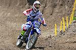 Belgium Jeremy Van Horebeek rides during the  MXGP World Championship Motocross at Pietramurata, Italy on April 13, 2014.