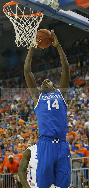 UK forward Michael Kidd-Gilchrist shoots a layup during the first half of the University of Kentucky's men basketball game against University of Florida 3/4/12 at the O'Connell Center in Gainesville, Fl. Photo by Quianna Lige | Staff