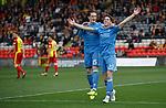Ryan Christie celebrates his goal