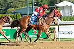 August 30, 2020: Letruska #3, ridden by Joel Rosario, trained by F. Gutierrez wins the The Shuvee grIII at Saratoga Race Course in Saratoga Springs, New York. Rob Simmons/CSM