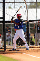 Gregory Guerrero participates in the Dominican Prospect League 2014 Louisville Slugger Tournament at the New York Yankees academy in Boca Chica, Dominican Republic on January 20-21, 2014 (Bill Mitchell)
