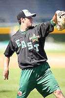 June 24, 2009: Anthony Bass of the Fort Wayne TinCaps at the 2009 Midwest League All Star Game at Alliant Energy Field in Clinton, IA.  Photo by: Chris Proctor/Four Seam Images