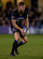 Bath Rugby's Rhys Priestland<br /> <br /> Photographer Bob Bradford/CameraSport<br /> <br /> European Rugby Heineken Champions Cup Pool 1 - Bath Rugby v Wasps - Saturday 12th January 2019 - The Recreation Ground - Bath<br /> <br /> World Copyright © 2019 CameraSport. All rights reserved. 43 Linden Ave. Countesthorpe. Leicester. England. LE8 5PG - Tel: +44 (0) 116 277 4147 - admin@camerasport.com - www.camerasport.com