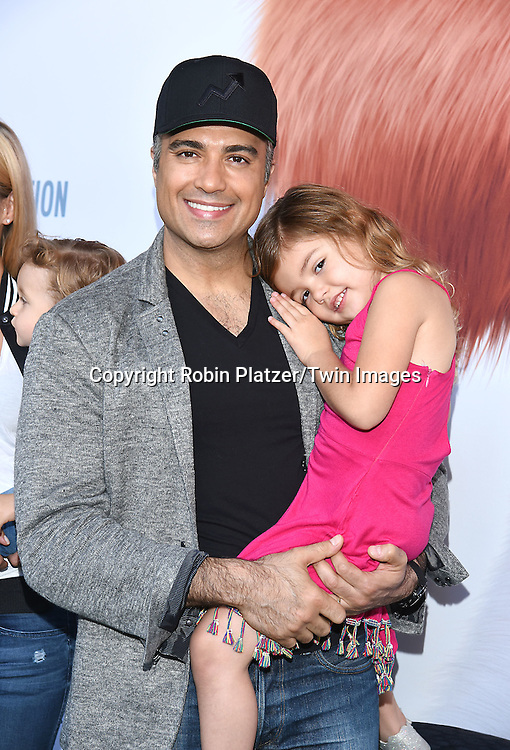 Jaime Camil and daughter attend the New York Premiere of &quot;The Secret Life of Pets&quot; on June 25, 2016 at David H Koch Theater at Lincoln Center in New York, New York, USA. <br /> <br /> photo by Robin Platzer/Twin Images<br />  <br /> phone number 212-935-0770