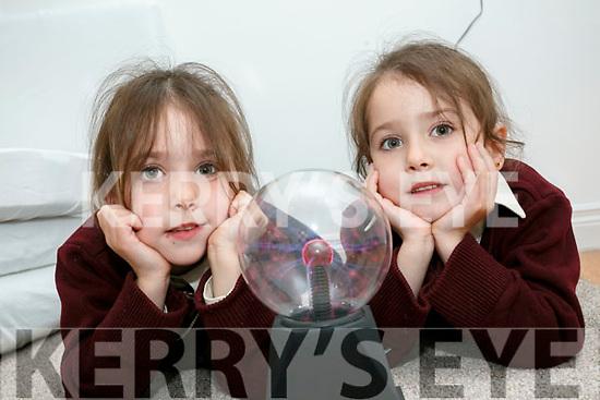 Holy Family School Opening of Sensory Room on Tuesday. Pictured  Edel Bentley Beer and Tiegan Bentley Beer