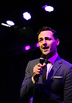 Max von Essen performing onstage at Birdland Theater during the Media Open House Cocktail Party at the Birdland Theater on September 20, 2018 in New York City.