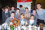 Scoil Iognaid Rís Dingle with their book A Walk through Dingle Town at the Young Entrepreneur finals in the Malton Hotel on Thursday Front l-r: Alan o'Brien, Aivaras Vasis, Fergal smith. Back row: Jack Curran, James Greaney, Adrian Zwolinski, Jack Flahive, Lukas Ciudov, Elijah Grennan and Jamie Flannery