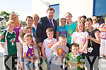 CHILDREN: An Taoiseach Brian Cowan was welcomed by children at the Listowel Resource Centre on Saturday.... ....