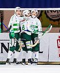 V&auml;ster&aring;s 2015-02-01 Bandy Elitserien V&auml;ster&aring;s SK  - Edsbyns IF :  <br /> V&auml;ster&aring;s Jonas Nilsson , Tobias Holmberg och Johan Esplund jublar efter 3-0 under matchen mellan V&auml;ster&aring;s SK  och Edsbyns IF <br /> (Foto: Kenta J&ouml;nsson) Nyckelord:  Bandy Elitserien ABB Arena Syd V&auml;ster&aring;s SK VSK Edsbyn EIF Byn jubel gl&auml;dje lycka glad happy