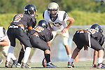 Beverly Hills, CA 09/23/11 - Rory Hubbard (Peninsula #33) in action during the Peninsula-Beverly Hills frosh football game at Beverly Hills High School.