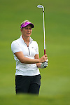 CHON BURI, THAILAND - FEBRUARY 17:  Suzann Pettersen of Norway plays a shoot on the 17th hole during day two of the LPGA Thailand at Siam Country Club on February 17, 2012 in Chon Buri, Thailand.  Photo by Victor Fraile / The Power of Sport Images
