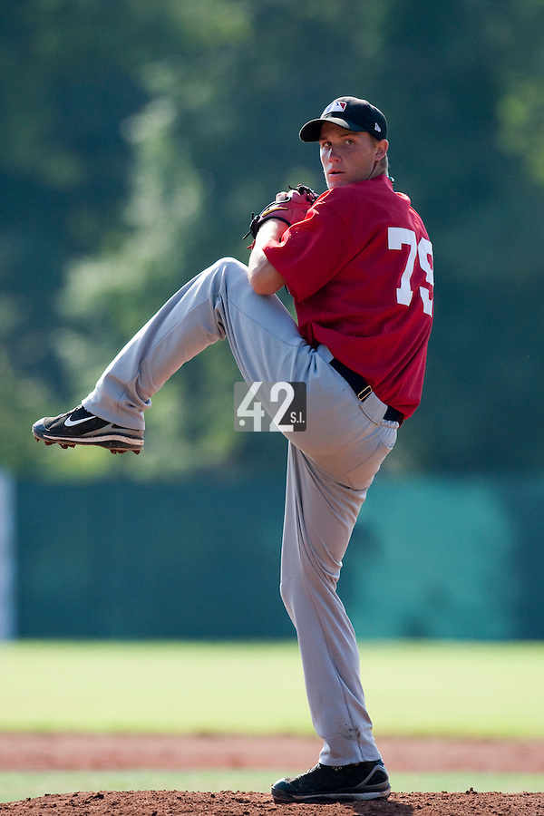 Baseball - MLB European Academy - Tirrenia (Italy) - 22/08/2009 - Dylan Unsworth (South Africa)