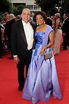 Omana and Sam Abraham at the Houston Grand Opera Ball - Carousel! at the Wortham Theater Saturday April 9,2016.(Dave Rossman Photo)