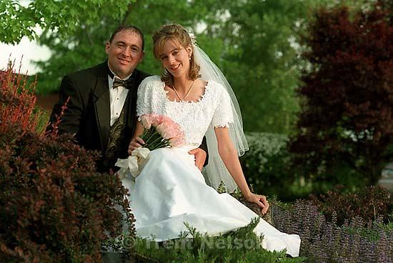 Amberly Robinson and Dallin's wedding.<br />