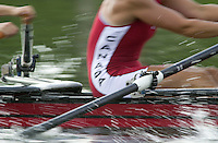 Nottingham, ENGLAND.  <br />  <br />   <br /> Commonwealth Regatta - Nottingham<br /> 20020818<br /> CAN W4X