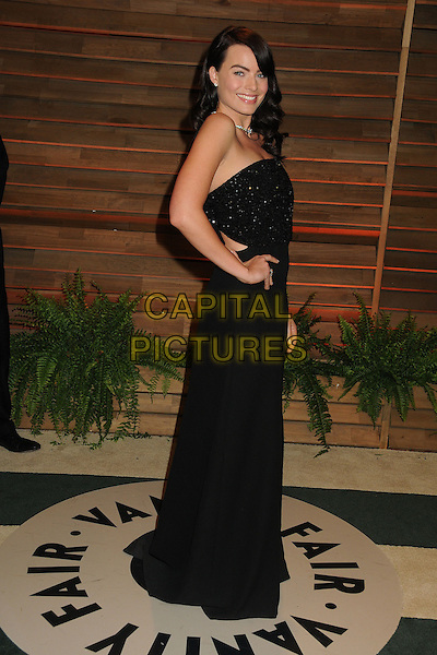 02 March 2014 - West Hollywood, California - Margot Robbie. 2014 Vanity Fair Oscar Party following the 86th Academy Awards held at Sunset Plaza. <br /> CAP/ADM/BP<br /> &copy;Byron Purvis/AdMedia/Capital Pictures