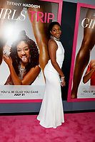 "LOS ANGELES - JUL 13:  Tiffany Haddish at the ""Girls Trip"" Premiere at the Regal Cinemas on July 13, 2017 in Los Angeles, CA"