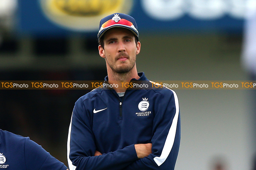 Steven Finn of Middlesex during Essex Eagles vs Middlesex, NatWest T20 Blast Cricket at The Cloudfm County Ground on 11th August 2017