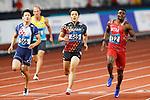 Ryota Yamagata (JPN), <br /> AUGUST 25, 2018 - Athletics : <br /> Men's 100m Qualification <br /> at Gelora Bung Karno Main Stadium <br /> during the 2018 Jakarta Palembang Asian Games <br /> in Jakarta, Indonesia. <br /> (Photo by Naoki Morita/AFLO SPORT)