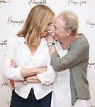 Lisa Emery and Kathleen Chalfant attends the meet & Greet for Playwrights Horizons New York Premiere pf 'For Peter Pan on her 70th Birthday' on July 25, 2017 at the Playwrights Horizons Studios at  in New York City.