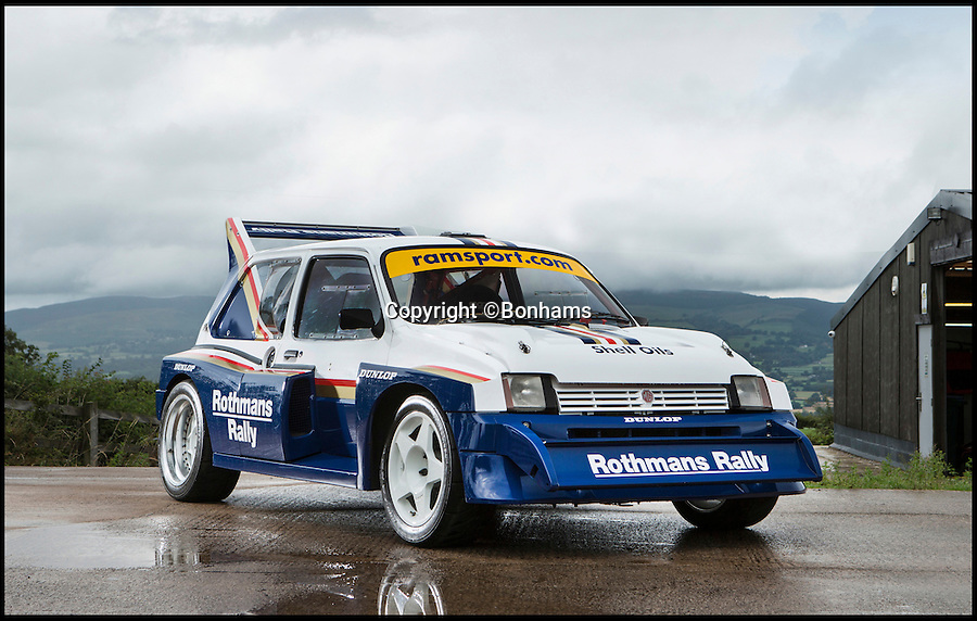 BNPS.co.uk (01202 558833)<br /> Pic: Bonhams/BNPS<br /> <br /> 31 year old Metro - Yours for £120,000!<br /> <br /> The MG Metro was the butt of many a joke in the 1980s, but this hottest of hot hatches is set to sell for a record £120,000. <br /> <br /> The mass-produced motor was British Leyland's answer to the Ford Fiesta but was much-maligned and ridiculed by many.<br /> <br /> But this wolf in sheeps clothing shares little but its name with the standard model, with a whopping 3 litre V6 engine producing 400 hp catapulting the tiny car to 60mph in just 3.2 seconds and 100mph in 8.2 seconds.<br /> <br /> The 6R4 Rally car won a host of competions in the late 80's and the European rallycross championship in 1992.<br /> <br /> The MG Metro 6R4 will be sold at Bonhams' annual Goodwood Revival sale on September 10.