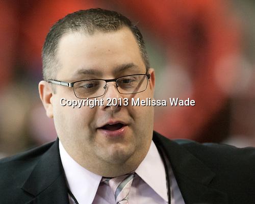 Pete Souris (Hockey East) - The Northeastern University Huskies defeated the visiting Providence College Friars 8-7 on Sunday, January 20, 2013, at Matthews Arena in Boston, Massachusetts.