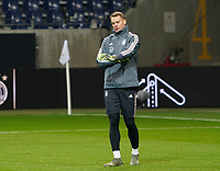 Torwart Manuel Neuer (Deutschland Germany) - 18.11.2019: Deutschland Abschlusstraining, Commerzbank Arena Frankfurt, EM-Qualifikation DISCLAIMER: DFB regulations prohibit any use of photographs as image sequences and/or quasi-video.