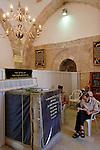 Israel, Southern Coastal Plain .Tomb of Rabbi Gamliel at Sanhedrin Park in Yavne'