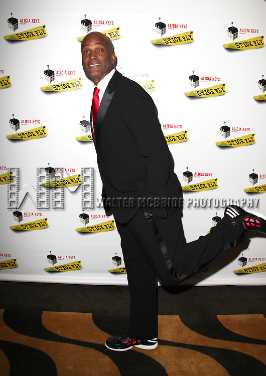 Kenny Leon.attending the Opening Night After Party for 'Stick Fly' at The Copacabana in New York City, December 8, 2011