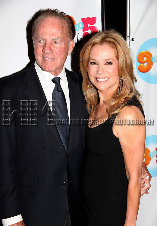 Frank Gifford &amp; Kathie Lee Gifford<br /> attending the Broadway Opening Night Performance of <br /> &quot; 9 to 5 the Musical &quot; at the Marriott Marquis Theatre in Times Square, New York City.<br /> April 30, 2009