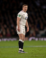 England's Chris Ashton<br /> <br /> Photographer Bob Bradford/CameraSport<br /> <br /> Quilter Internationals - England v South Africa - Saturday 3rd November 2018 - Twickenham Stadium - London<br /> <br /> World Copyright &copy; 2018 CameraSport. All rights reserved. 43 Linden Ave. Countesthorpe. Leicester. England. LE8 5PG - Tel: +44 (0) 116 277 4147 - admin@camerasport.com - www.camerasport.com