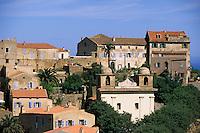 Europe/France/Corse/2B/Haute-Corse/Balagne/Pigna: Le village