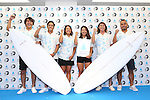 (L-R) <br /> Takumi Nakamura, <br /> Kenta Ishikawa, <br /> Nagisa Tashiro, <br /> Nao Omura, <br /> Hiroto Arai, <br /> Masatoshi Ono, <br /> AUGUST 4, 2016 - Surfing : <br /> Nippon Surfing Association holds a press conference after it was decided that <br /> the sport of surfing would be added to the Tokyo 2020 Summer Olympic Games on August 3rd, 2016 <br /> in Tokyo, Japan. <br /> (Photo by AFLO SPORT)