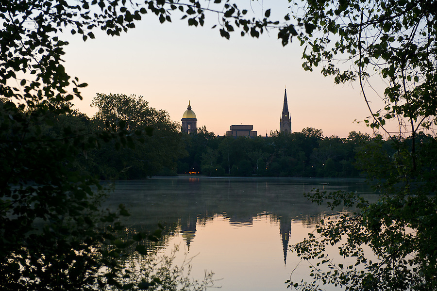 June 27, 2012; Saint Mary's Lake..Photo by Matt Cashore/University of Notre Dame