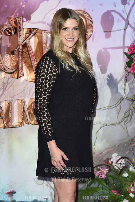 LONDON, UK. November 01, 2018: Anna Williamson at the European premiere of &quot;The Nutcracker and the Four Realms&quot; at the Vue Westfield, White City, London.<br /> Picture: Steve Vas/Featureflash