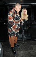 Evan Ross and Ashlee Simpson host dinner to mark launch of their debut EP &quot;Ashlee + Evan&quot;, Bagatelle London, Dover Street, London, England, UK, on Wednesday 07 November 2018.<br /> CAP/CAN<br /> &copy;CAN/Capital Pictures