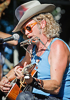 South Memphis String Band, featuring Alvin Youngblood Hart, Jimbo Mathus, and Luther Dickinson, playing at the 2011 Blues and BBQ Festival in New Orleans, LA.