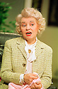 Prunella Scales in A Day in the Death of Joe Egg opens at the New Ambassadors Theatre on 1/10/01  pic Geraint Lewis