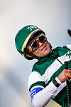 MAR 07: Joel Rosario at the Santa Anita Handicap at Santa Anita Park in Arcadia, California on March 7, 2020. Evers/Eclipse Sportswire/CSM