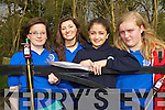 Pictured are students from Presentation Secondary School, Tralee at the KES Inter Schools Orienteering day in Ballyseedy woods on Thursday, from left: Ailbhe Foley, Anna Farrell, Eden Abrahams and Sarah Barry.