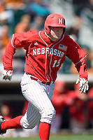 Nebraska Cornhusker Patric Tolentino against Texas on Sunday March 21st, 2100 at UFCU Dish-Falk Field in Austin, Texas.  (Photo by Andrew Woolley / Four Seam Images)