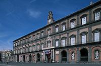 Italy ,Campania ,Naples,Napoli,Palazzo Reale