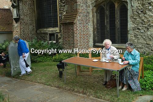 Barnes southwest London Uk. St Marys churchyard.