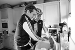 ENGLAND - JANUARY 19:  Triathletes Allistair and Jonathan Brownlee of the Great Britain at their home on January 19, 2012 in Great Britain  (Photo by Donald Miralle) *** Local Caption ***