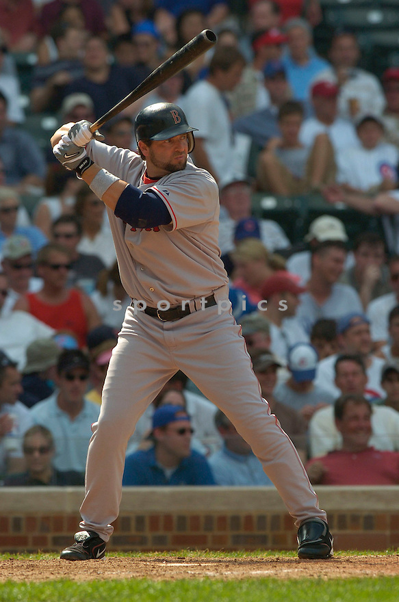 Kevin Millar during the Boston Red Sox v. Chicago Cubs game on June 10, 1005..Cubs win 14-6..David Durochik / SportPics