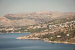 Dalmatian coast on the Adriatic Sea on the Dubrovnik Riviera by Cavtat, Croatia
